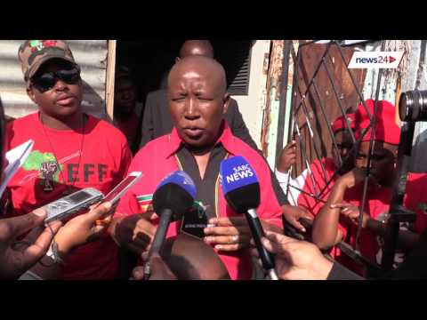 The black life is cheap according to the DA - Julius Malema