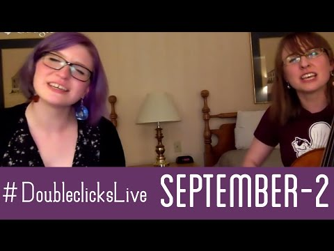 LIVESTREAM from the road part 2 - the Doubleclicks & Paul and storm!