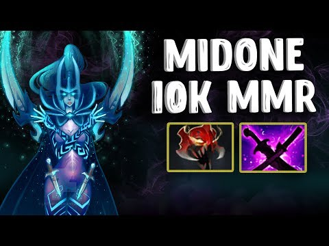 MIDONE 10K MMR PHANTOM ASSASSIN DOTA 2
