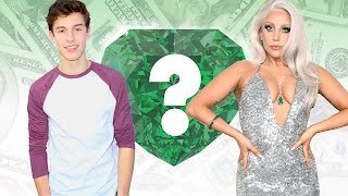 WHO'S RICHER? - Shawn Mendes or Lady Gaga? - Net Worth Revealed!