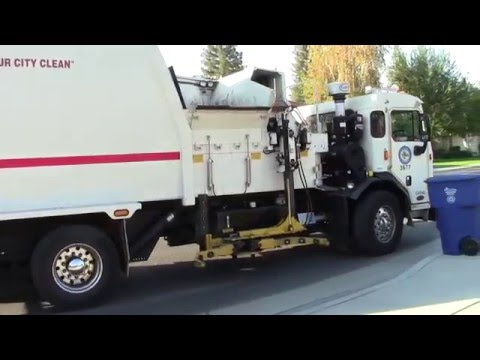 Bakersfield Area Garbage Truck Compilation