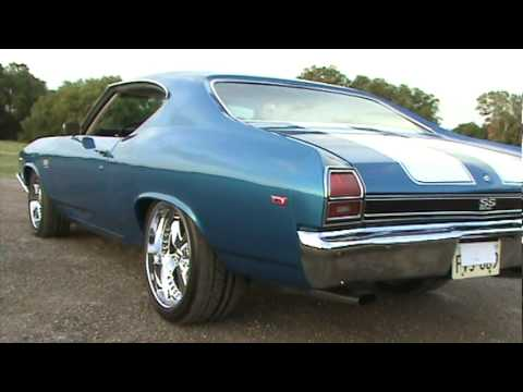 1969 Chevelle Ss 454 Big Block Youtube