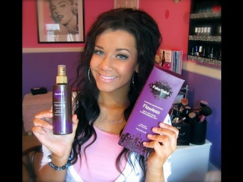 Self-Tanner Review : FakeBake Flawless♡