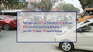 Gần 200 người chết do tai nạn giao thông trong 7 ngày nghỉ Tết