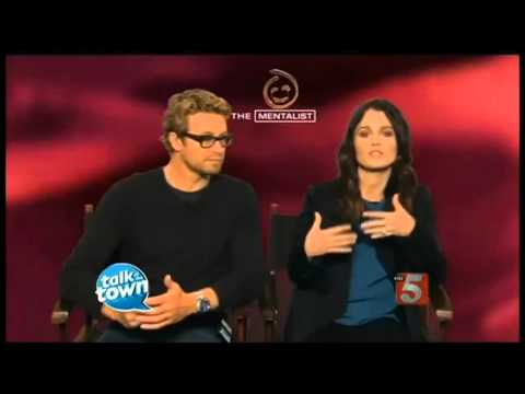 Simon Baker and Robin Tunney Interview: Jisbon´s best part of the show