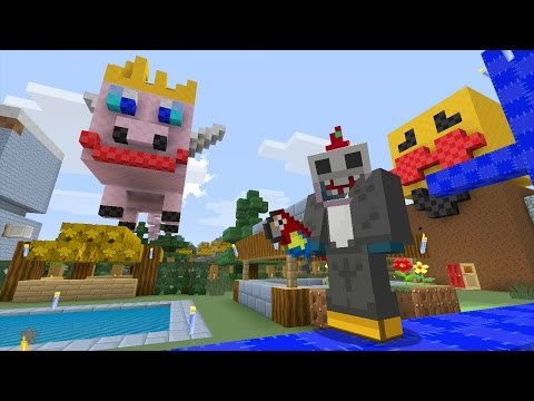 Minecraft Xbox Quest For A Flying Pig 48