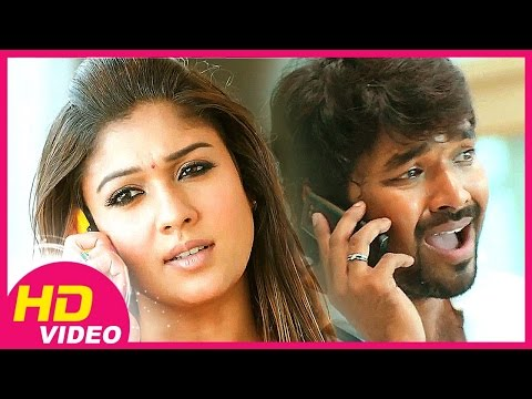 Raja Rani -nayanthara Scolds Jai video