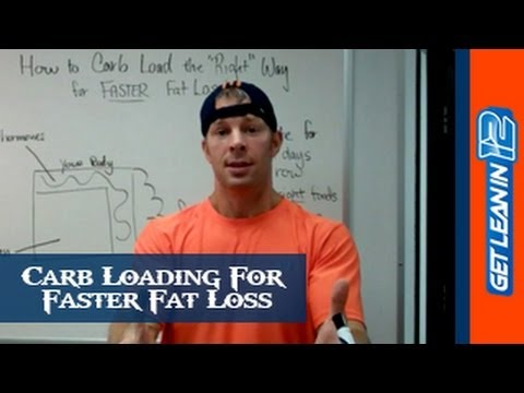 Carb Loading: How To Carb Load For FASTER Fat Loss (4 Simple Tricks)