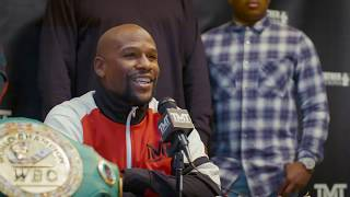 Floyd Mayweather Official Daily Number Press Conference
