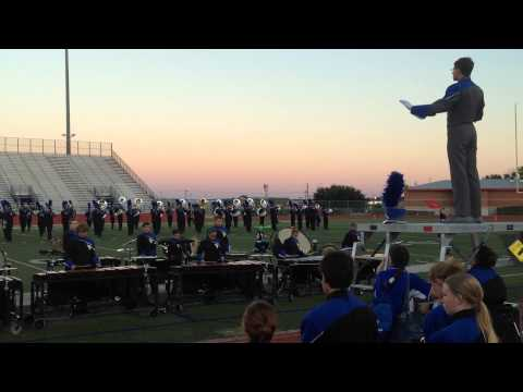 1st Movement, USBands Contest, 10/4/14, Burleson High School Stadium