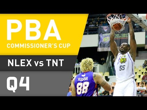 NLEX VS. TNT - Q4 | Commissioners Cup 2016