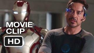 Iron Man 3 Movie CLIP - I Can't Sleep (2013) - Robert Downey Jr. Superhero Movie HD