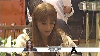 Falleció la actriz Lorena Rojas