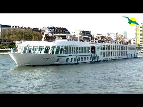 MS AURELIA: Live-Rundgang und Vorstellung des Phoenix Reisen Flusskreuzfahrtschiff