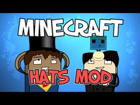 Minecraft - THE HATS MOD - Mod Spotlight
