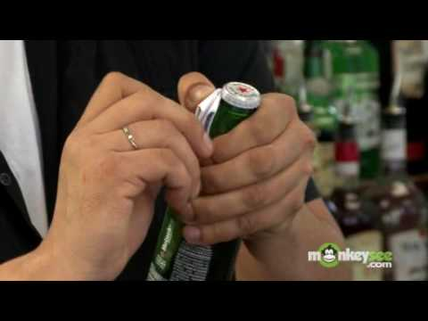 Open a Beer Bottle Using Paper