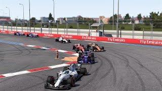 F1™ 2017 Test Race 3 Sochi Ferrari Broadcast