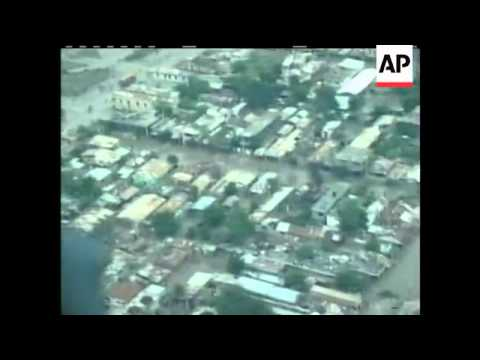 Parts of Haiti remain under water and cut off from the rest of the country after Tropical Storm Hann