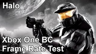 Halo Combat Evolved Anniversary Xbox One vs Xbox 360 Backwards Compatibility Frame Rate Test