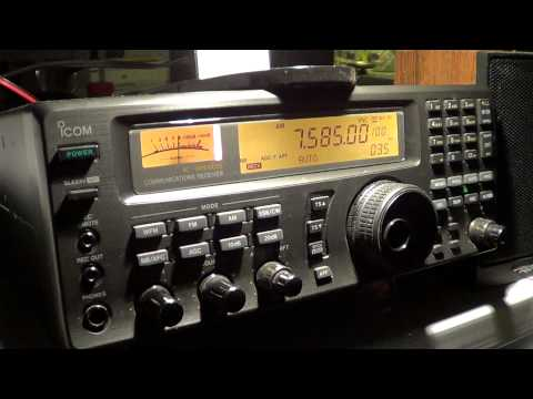 Radio Farda from Sri Lanka relay 7585 khz