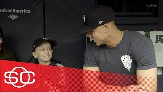 My Wish: Luca gets to be a New York Yankee with Aaron Judge   SportsCenter   ESPN