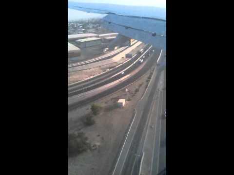 SpiceJet landing at Dubai Airport