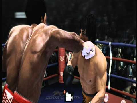 Rocky Balboa Vs Apollo Creed Fight Night Champion