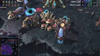 puCK (P) v ViBE (Z) on Cerulean Fall - StarCraft 2 - Legacy of the Void 2018