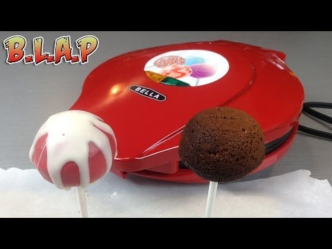 Chocolate Cake Pop Recipe and Cake Pop Maker Review