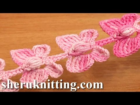 Crochet Butterfly Cord Tutorial 52 Crochet Butterflies Music Videos