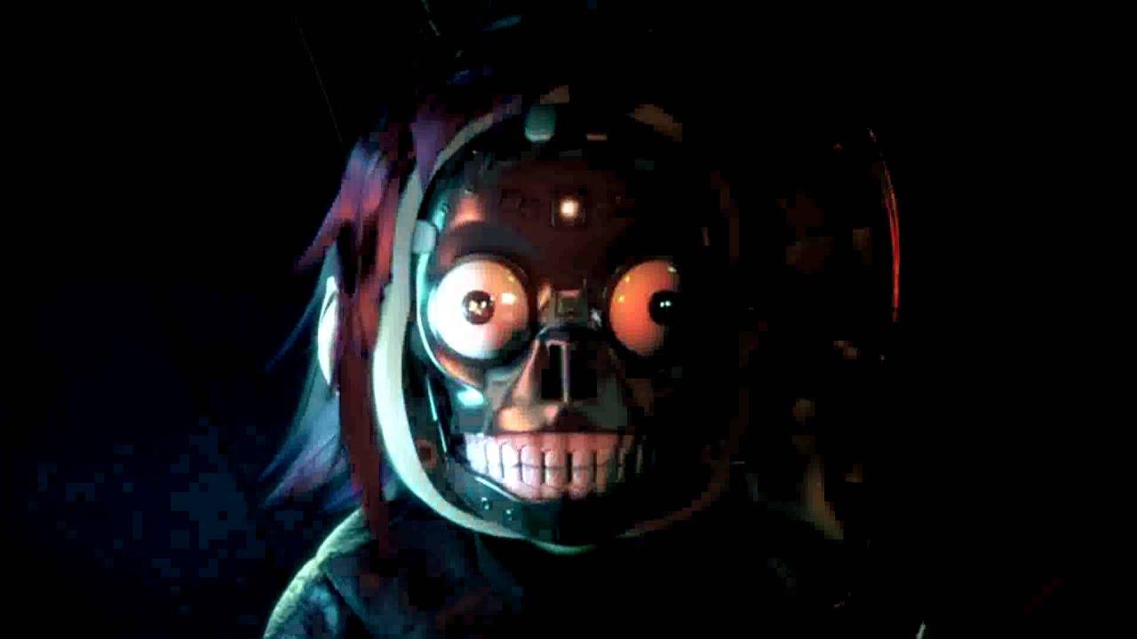 "Gorillaz - Cyborg/""Evil"" Noodle IDENT!!! **Centered** - YouTube"