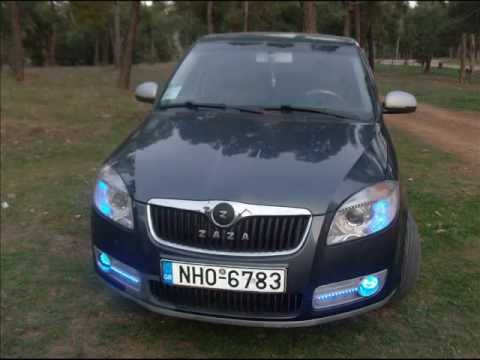 skoda fabia tuning 2 youtube. Black Bedroom Furniture Sets. Home Design Ideas