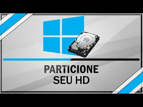 Como criar e excluir uma partição no HD - Sem programas