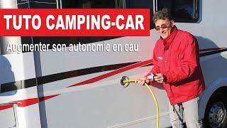 Les conseils de Camping-Car Magazine : augmenter son autonomie en eau