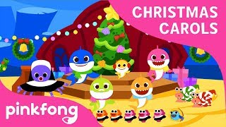 A Shark Charistmas | Christmas Carols | Baby Shark | Pinkfong Songs for Children