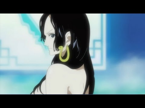 海賊王 魯夫第一次和蛇姬見面