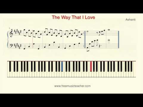 How To Play Piano: Ashanti