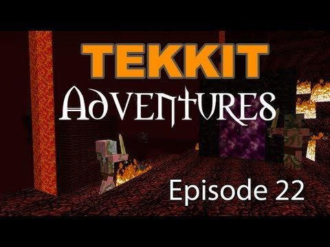 "Tekkit Adventures - Episode 22 ""Industrialising"""