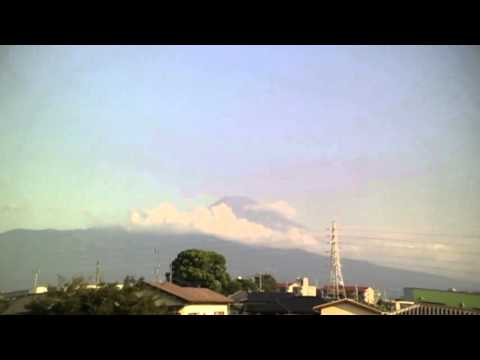 August 23, 2015 Today's Mount Fuji 100-speed playback : World Heritage Sites in Japan
