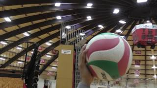 How to Jump Serve a Volleyball- Tutorial