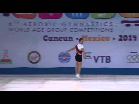 2014 World Aerobic Gymnastics Championships - Men's And Women's Individual video