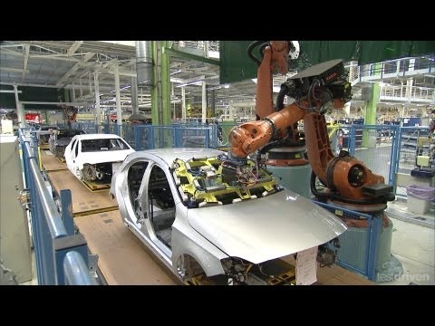 Mercedes A-Class Production line