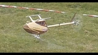 "WORLD´S FIRST WOODEN RC HELICOPTER 3D "" ROTOR LIVE 2015 "" Iffezheim Germany"