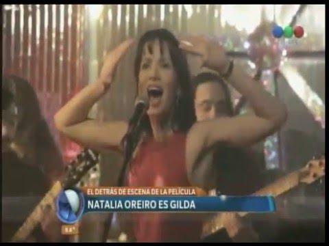 Natalia Oreiro: Gilda debe estar disfrutando todo esto
