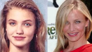 10 actrices famosas antes y despues