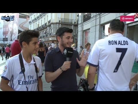 #MundoLeo: ¿Qué opinan los hinchas del Madrid sobre Messi?