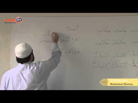 Arapça Dersi 15 - İsm-i Tasğir,  İsm-i Mensûb,  Mübâlağa İsm-i Fail (Arapça Öğreniyorum)