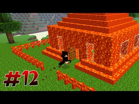 Дом Из Лавы! Дом Нуба Грифера - GROM #12