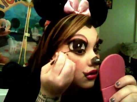 Minnie Mouse Make up Tutorial