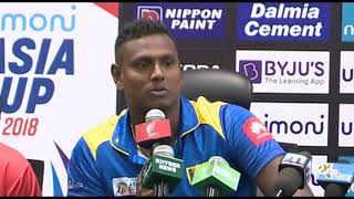 Asia Cup UAE 2018 – Captain's Press Conference